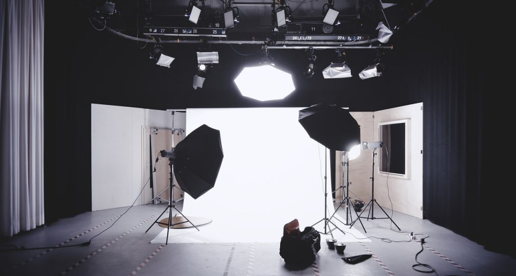 Example of a photo studio