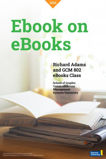 Cover image for eBook on eBooks