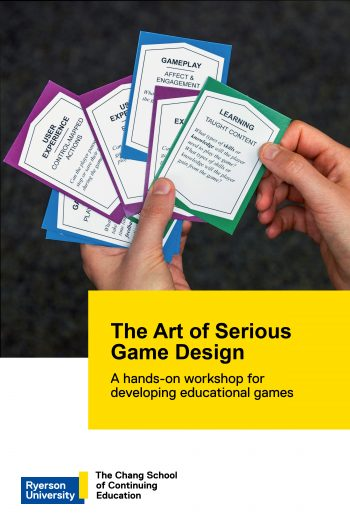 Cover image for The Art of Serious Game Design