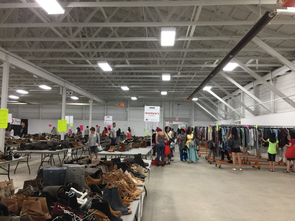 Photo of Nordstrom Warehouse Sale in 2017