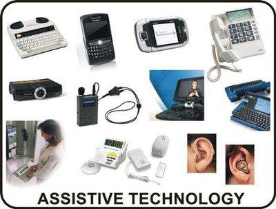 example of assistive technologies