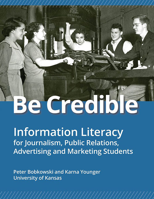 Be Credible book cover